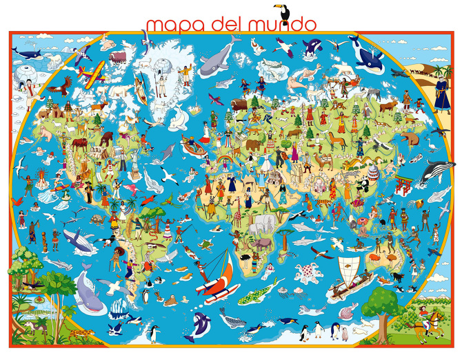 Digital maps quinomarin digital maps children world map colombia and poland children map canary island map gumiabroncs Image collections