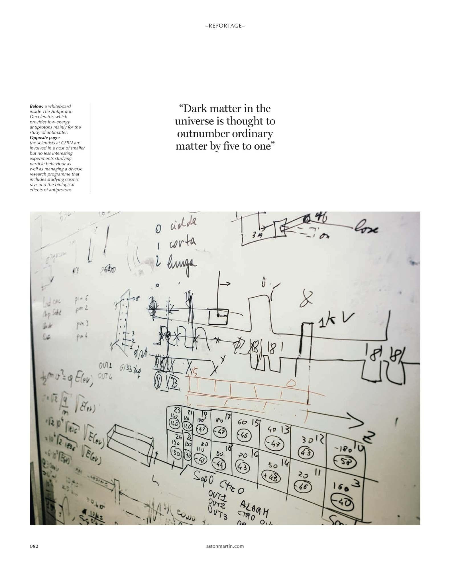 Cover Luca Locatellis Cern In Aston Martin Magazine Electrical Wiring Diagram September 2015 Filed Under Covertearsheetluca Locatelliluca Locatelli Tearsheetcerncollideraston